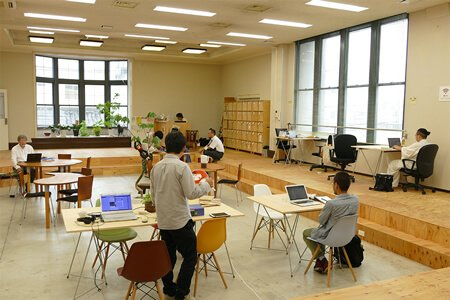 コワーキングスペース(Impact Hub Kyoto)